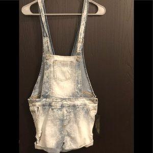 New Blue Jean short overalls